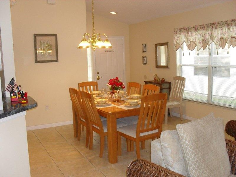 Family  formal dining area