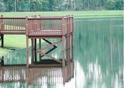 Fishing Dock at Lake Berkley