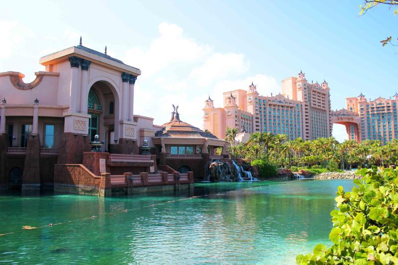 Atlantis Resort on Paradise Island.