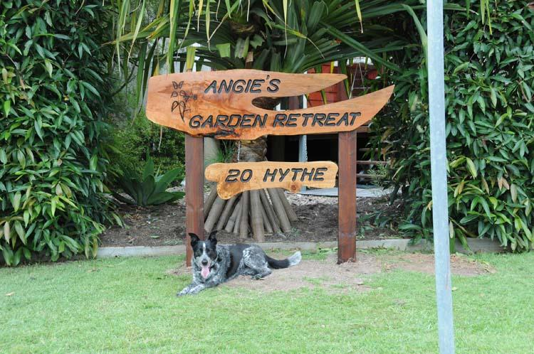 Angie's Garden Retreat 'Where Dog's Rule'