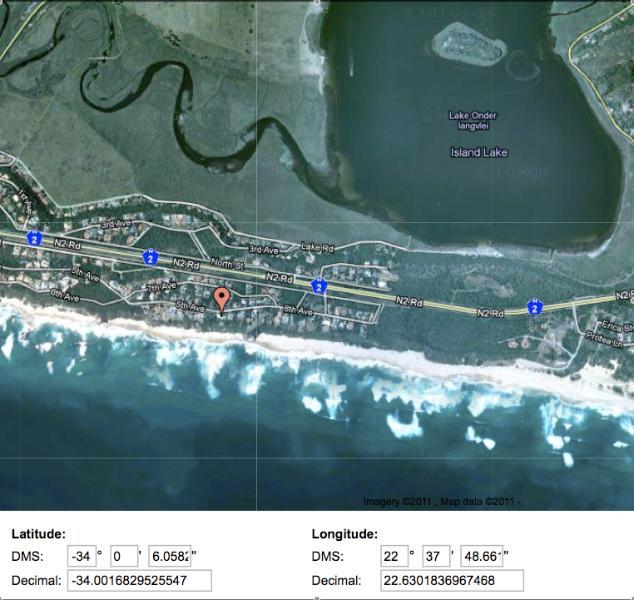 mapa de acuario