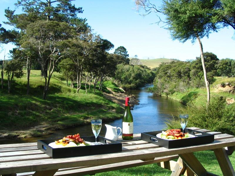 Picnic Dinner by the Waitangi River