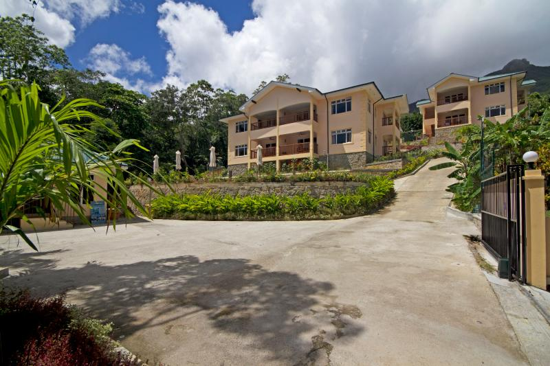 Exterior View of The Palm Seychelles