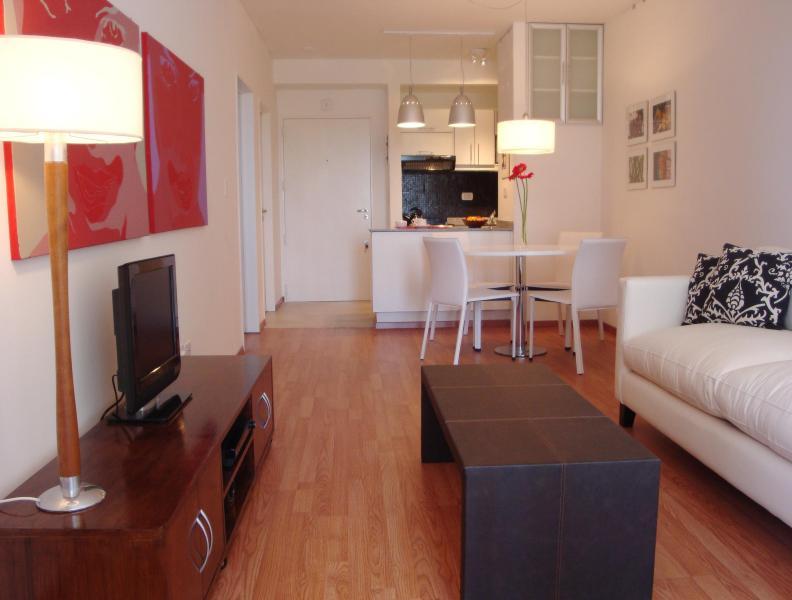 Living room and dinnig room