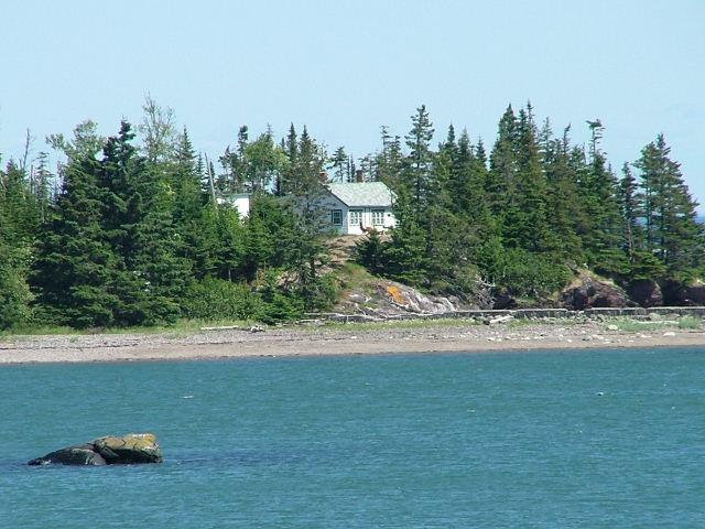 Cottage from Cove View