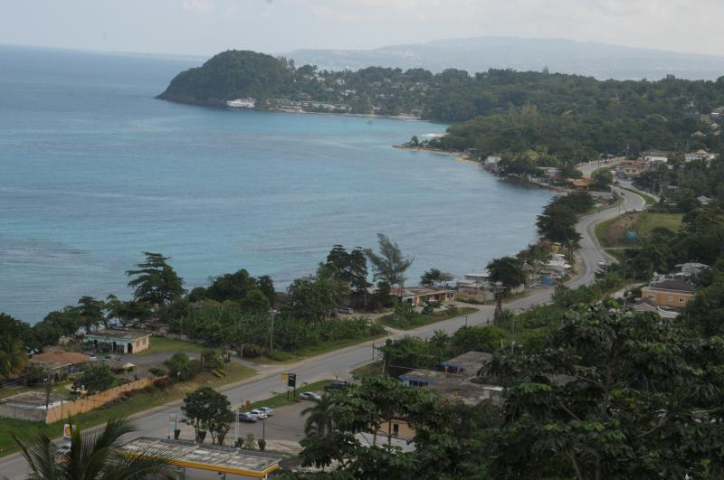 From Balcony looking out towards Montegobay