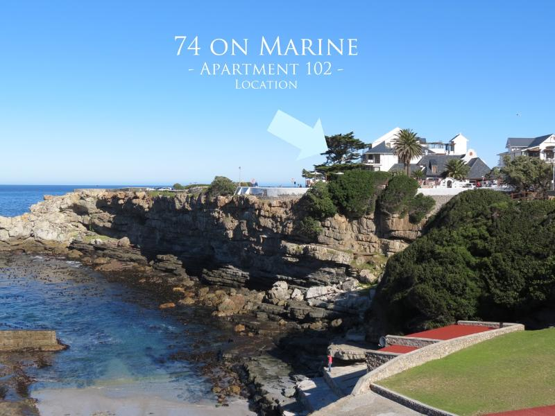 74 on Marine - Apartment 102, alquiler de vacaciones en Overberg District