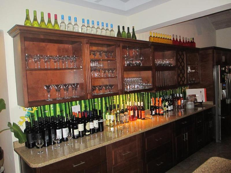 Great selection of wine and cocktails