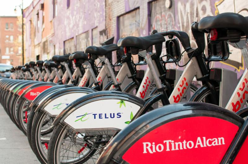 Bixi bike (rental) - Vélos Bixi (locatif)