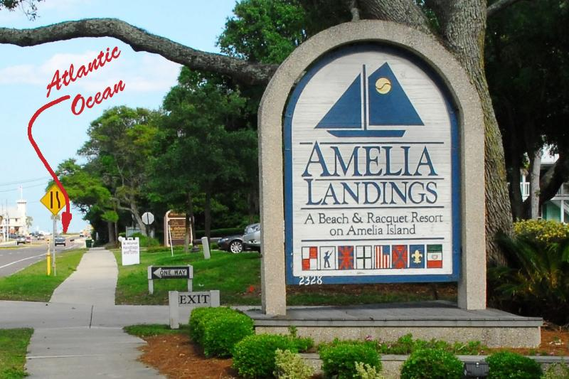 Amelia Landings is block from the ocean