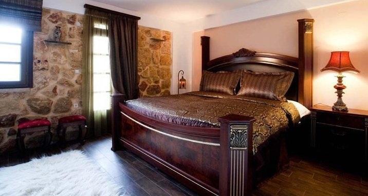 La camera da letto di 'Kaliki' appartamentino, al 2 ° piano