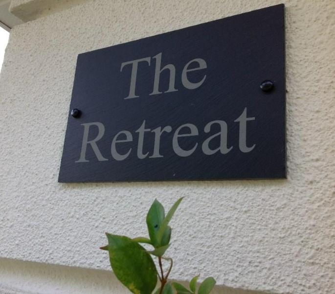 A sign of luxury, 'The Retreat'