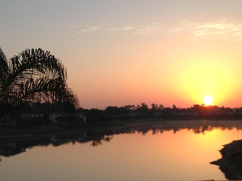 Sunrise - The sun rising over the beautiful Sunset Lake