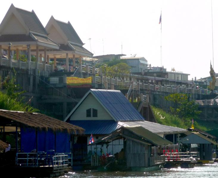 Restaurants by the Mekong River in Nong Khai