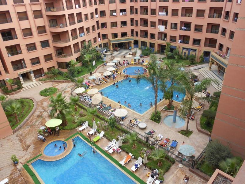 Furnished Apart. for rent / Appart. meubé à louer, vacation rental in Marrakech