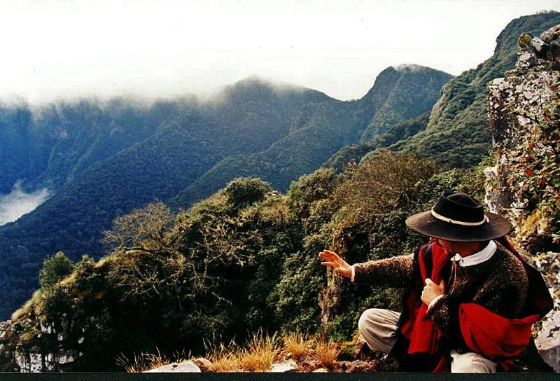 Eco-Portal de Piedra, private reserve