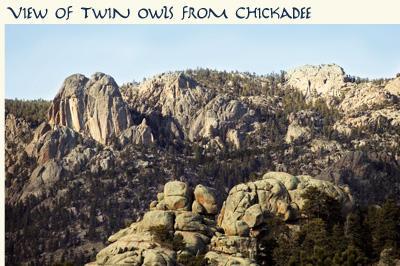 Ansicht der Twin Owls von Meise