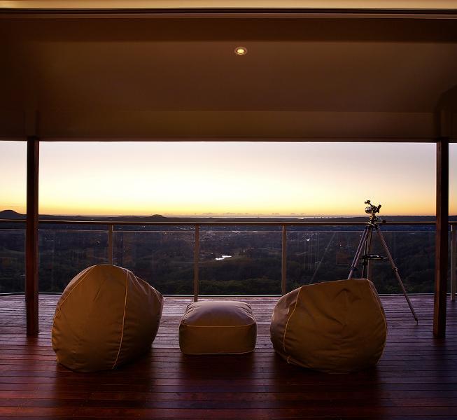 Freestyle Escape- Escape house,deck view