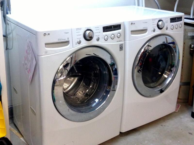 Washer/Dryer in Garage.  Do it yourself or housekeeping can be arranged.