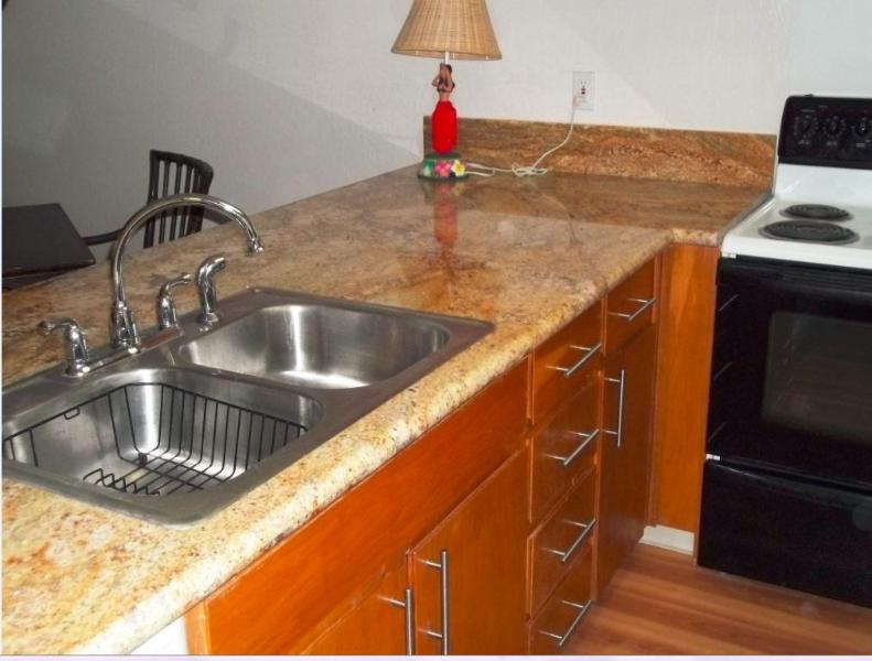 New Granite countertops in Kitchen