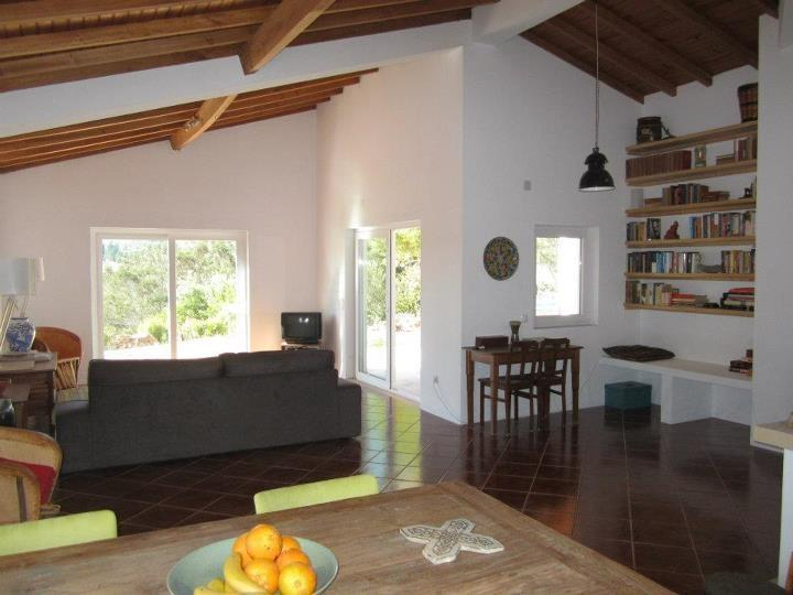 spacious living room with access to patio and terrace