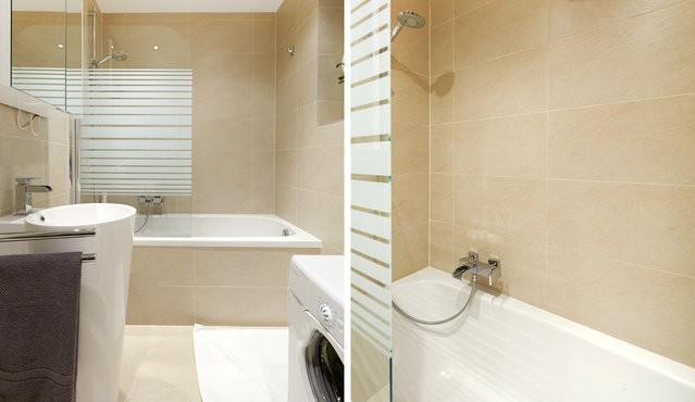 Take a bath or shower