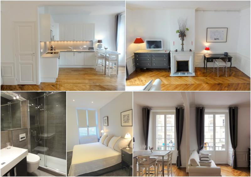 VERSAILLES REGENCE: Charming Apartment in the Historical District Near the Palace and the market, location de vacances à Versailles