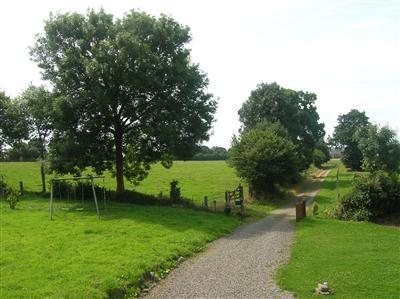 Le Clos - View from the House down the lane. A lovely secluded spot!