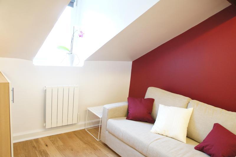 Living area, zen and cosy