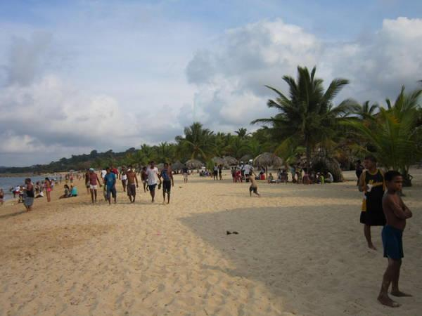 Playa Grande. The beach within walking distance (about 15 to 20 min)