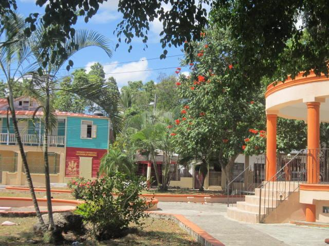 The park in Luperon