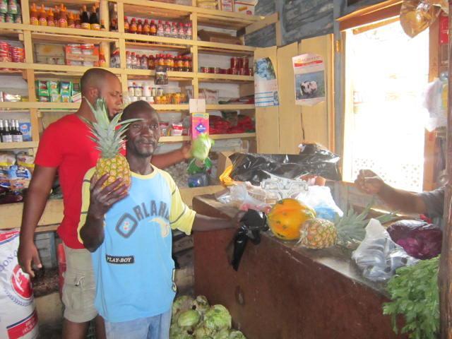 Vegetable Market in Luperon