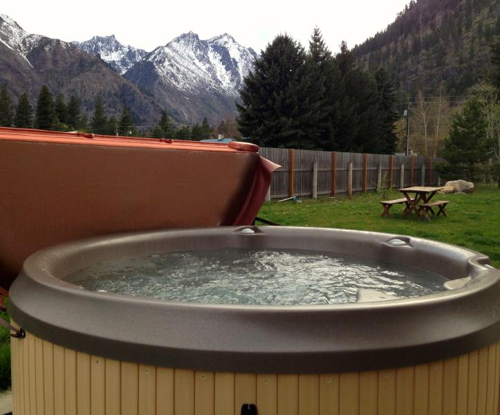 Hot Tub professionell Sanitized Gäste
