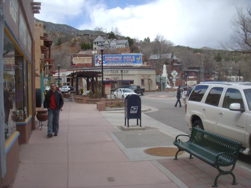 downtown Manitou