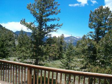 View toward Rocky Mountain National Park