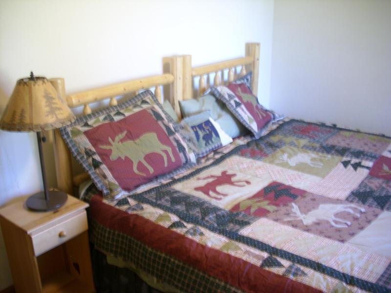 Bedroom 4, lower level, king bed bed can be converted to two twins on request