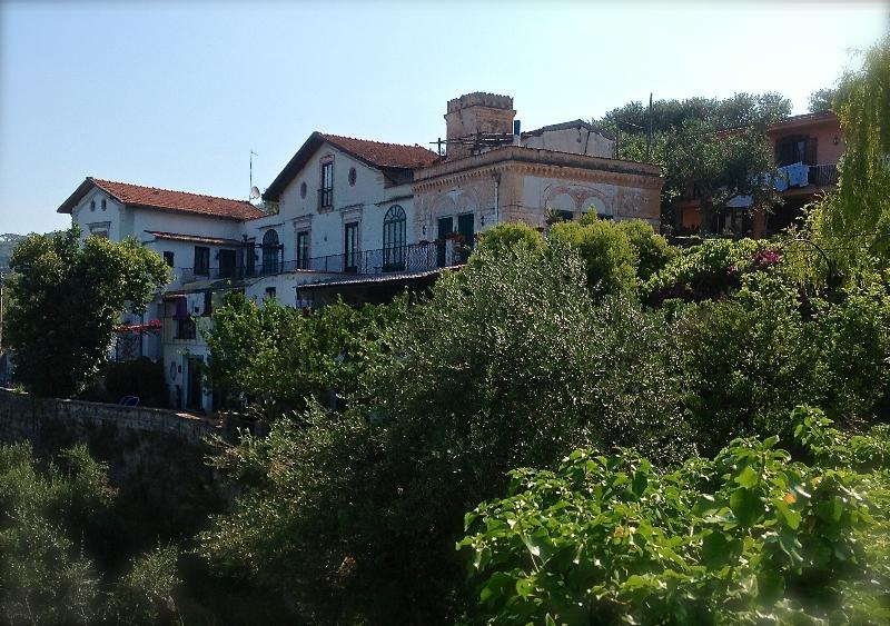 The villa view from outside