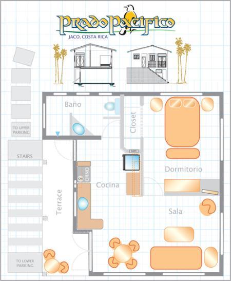 Plan d'étage de Casita