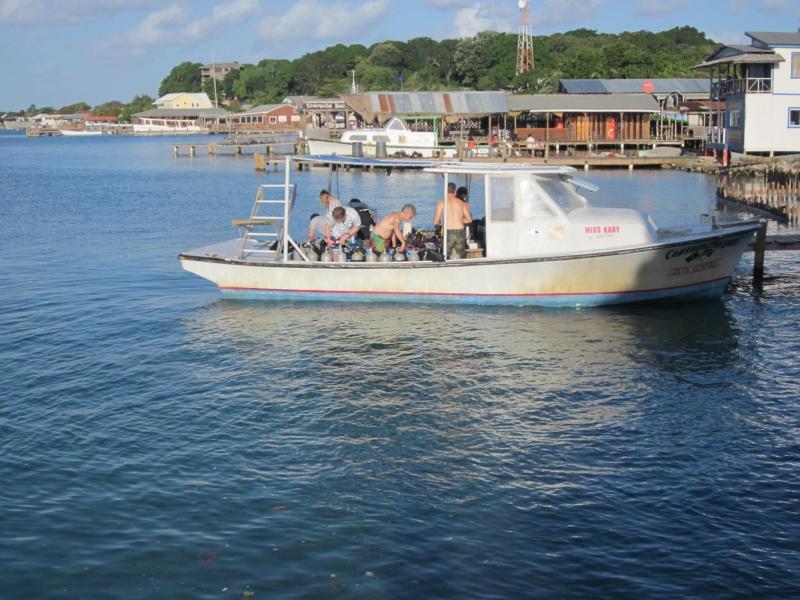 A Dving boat