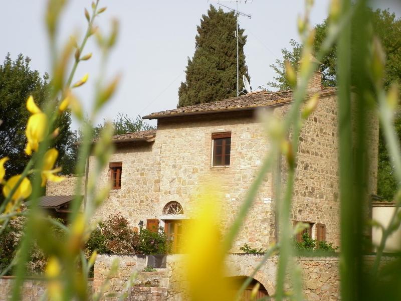 Podere La Grande Querce near s.gimignano, holiday rental in Montaione