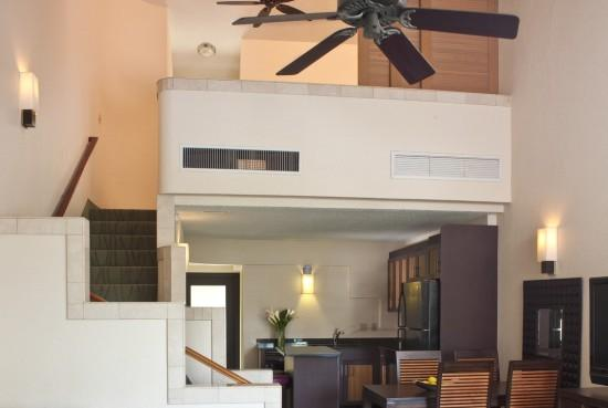 Loft duplex, Chambre des maîtres à l'étage