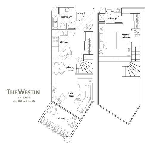 Plan d'étage de l'unité