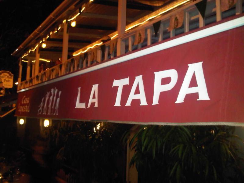 Restaurant la Tapa, 100 % espagnol