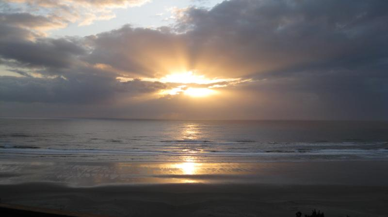 Winter Sunset from Deck