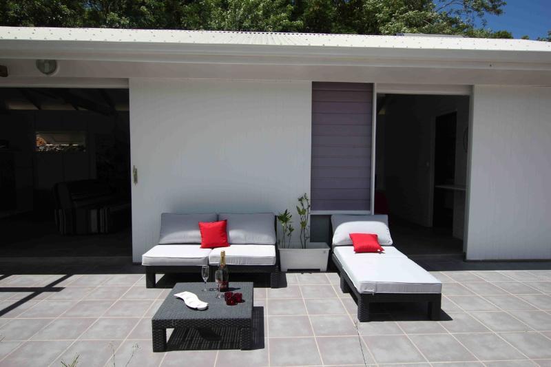 Salon extérieur / outside lounge