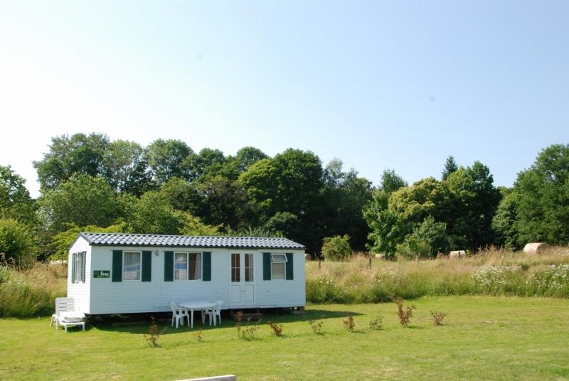Fully equiped mobile home with a view, holiday rental in Sainte-Anne-Saint-Priest