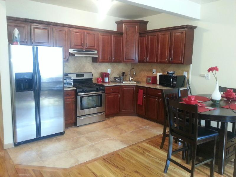 Kitchen with eat in dinette