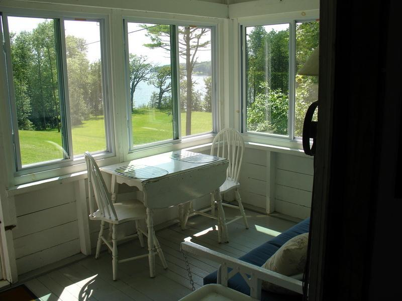 High View cottage porch
