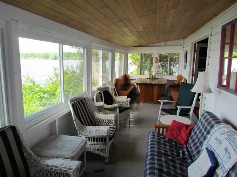 The Point cottage porch