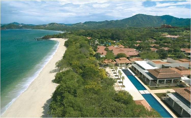 Playa Conchal Beach Club Ariel View
